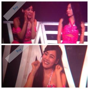 TaeNy moment... Tiffany hyperactive hahaha Tiffany is my bias