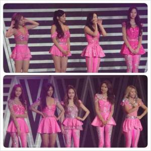 SNSD beautiful in PINK